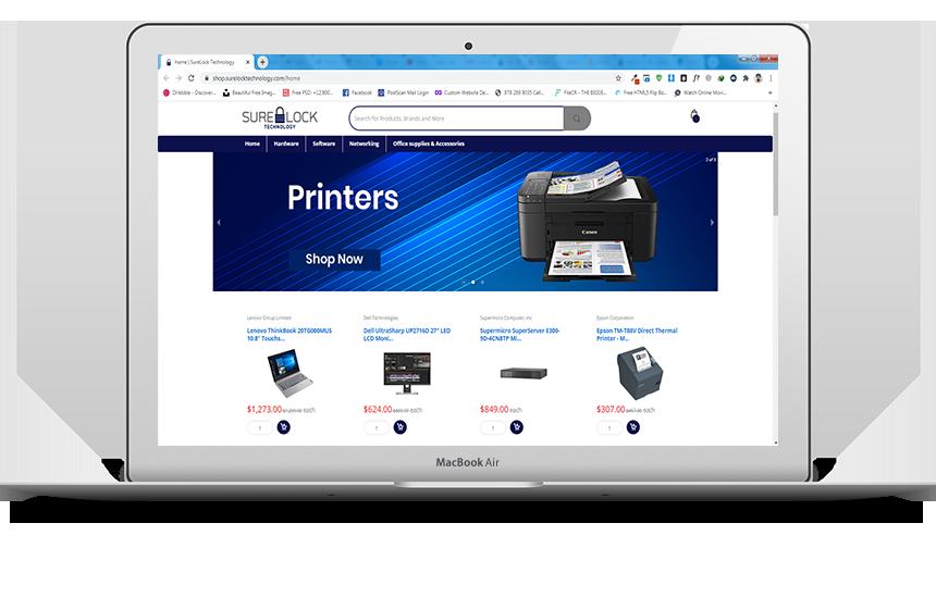 Online Store - SureLock Technology